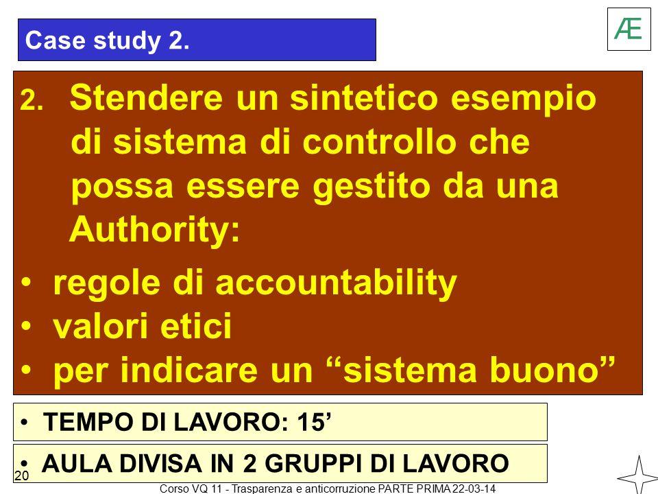 Case study 2. 2.