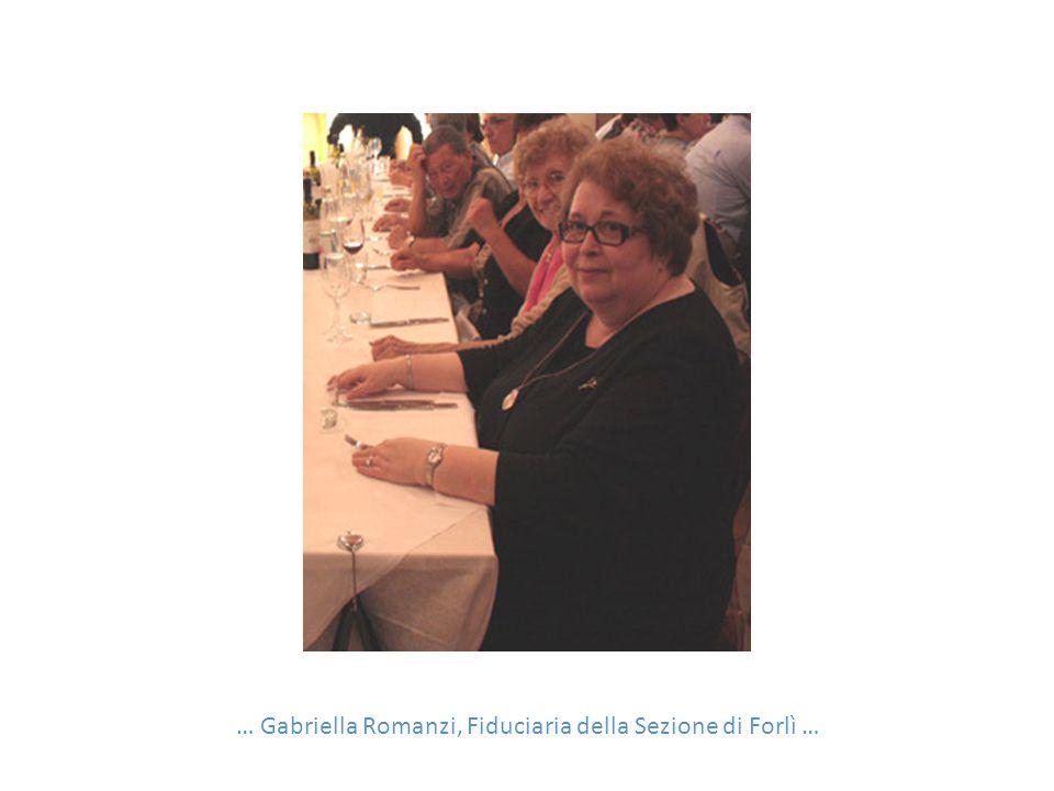 … Gabriella Romanzi, Fiduciaria della Sezione di Forlì …