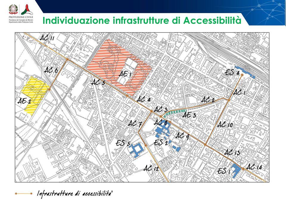 Individuazione infrastrutture di Accessibilità