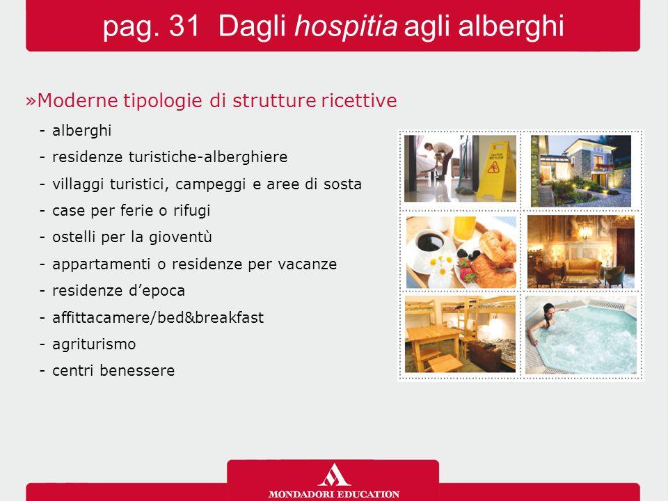 »Moderne tipologie di strutture ricettive -alberghi -residenze turistiche-alberghiere -villaggi turistici, campeggi e aree di sosta -case per ferie o