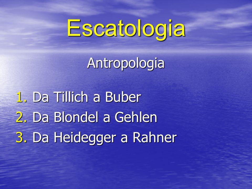 Escatologia biblica Antico Testamento 1.La concezione del tempo 2.Escatologia comunitaria 3.Escatologia messianica 4.Escatologia mondano-terrestre 5.Coscienza attivo-dinamica della storia