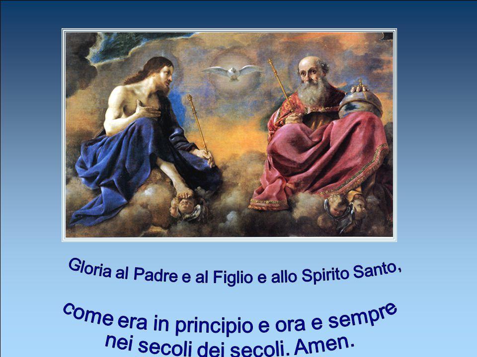 Infondi nel nostro spirito la tua grazia, o Padre, Tu che, all' annuncio dell'Angelo, ci hai rivelato l'incarnazione del tuo Figlio, per la sua passio