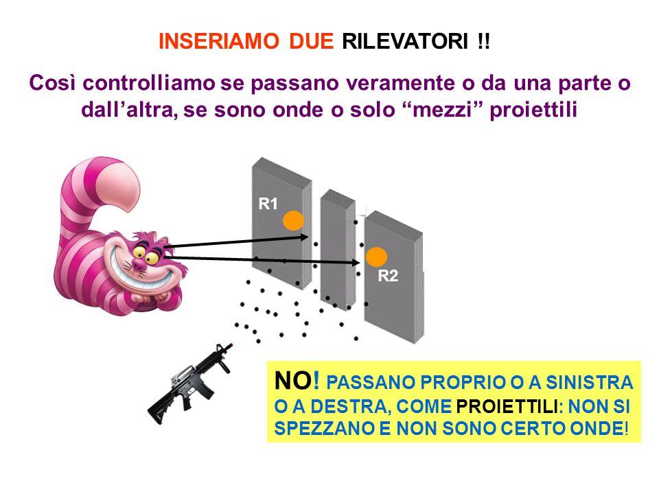 INSERIAMO DUE RILEVATORI !. R1 R2 NO.