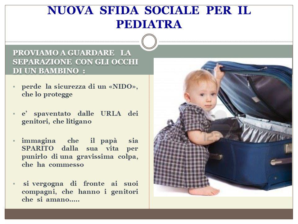 LETTERATURA MEDICA E PEDIATRICA Annamaria Bernardini De Pace La denuncia di abuso nel contesto dell azione giudiziaria di separazione Pediatrics.