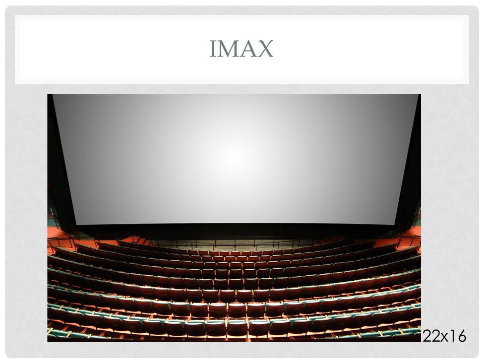 Formati di proiezione: -Academy silent (1,33: 1) -Academy (1,37: 1, 1932) -Cinemascope (2,55:1, 1954) -Panavision (2,40:1, 1959) -Cinerama (2,85:1, 1952) RAPPORTO D'ASPETTO