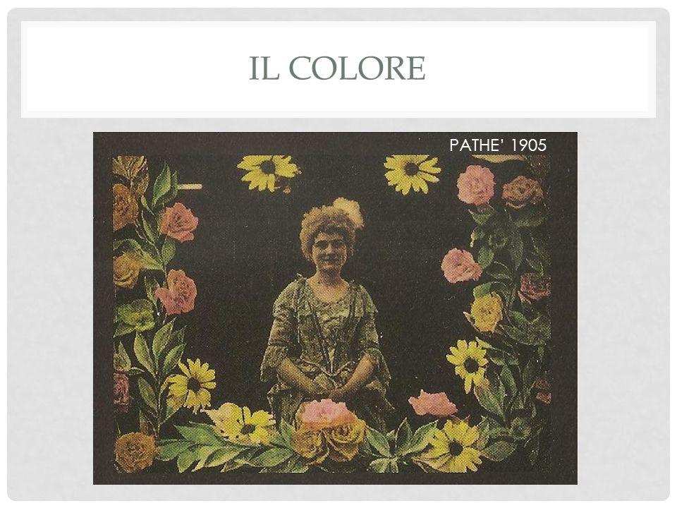IL COLORE PATHE' 1905
