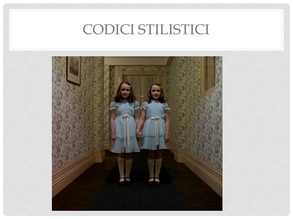 Prospettiva L'inquadratura L'illuminazione Bianco&Nero / Colore CODICI DELLA FOTOGRAFICITA'