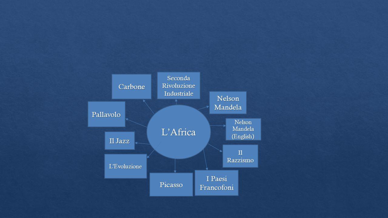 L'Africa Seconda Rivoluzione Industriale Nelson Mandela (English ) Il Razzismo I Paesi Francofoni Carbone L'Evoluzione Picasso Il Jazz Pallavolo