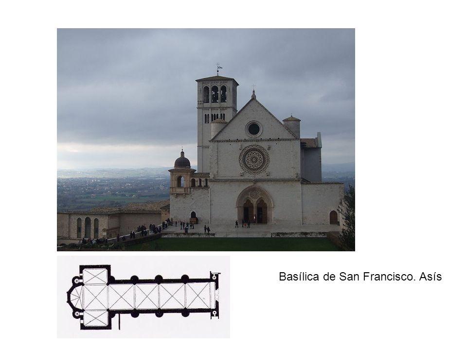 Basílica de San Francisco. Asís