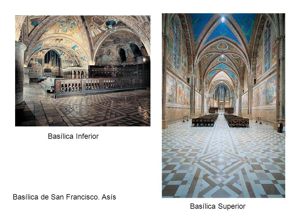 Basílica Inferior Basílica Superior Basílica de San Francisco. Asís