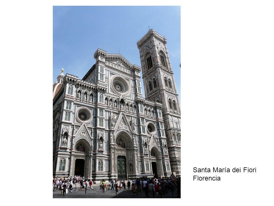 Santa María dei Fiori Florencia