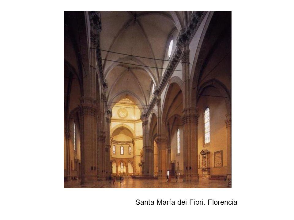 Santa María dei Fiori. Florencia