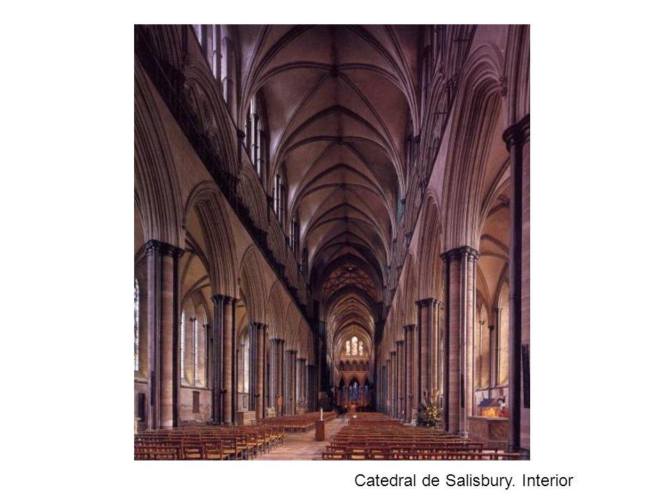 Catedral de Salisbury. Interior