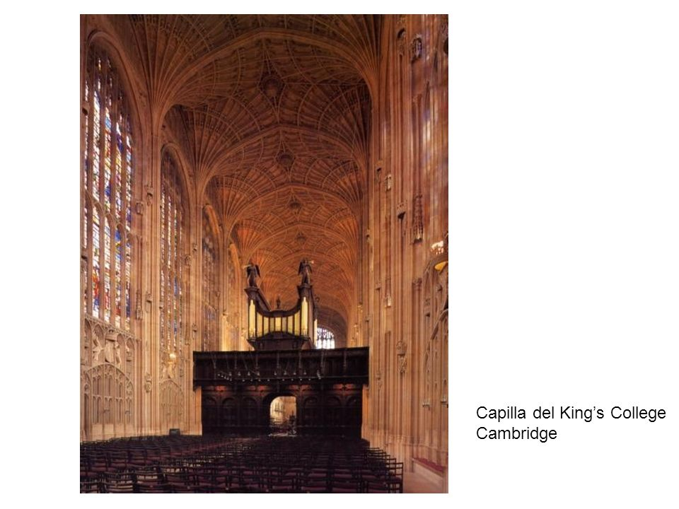 Capilla del Kings College Cambridge