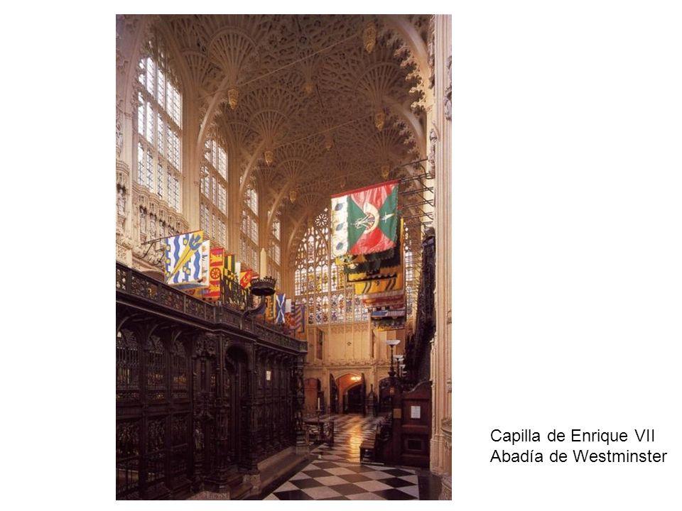 Capilla de Enrique VII Abadía de Westminster