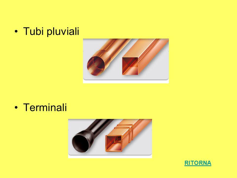 Tubi pluviali Terminali RITORNA