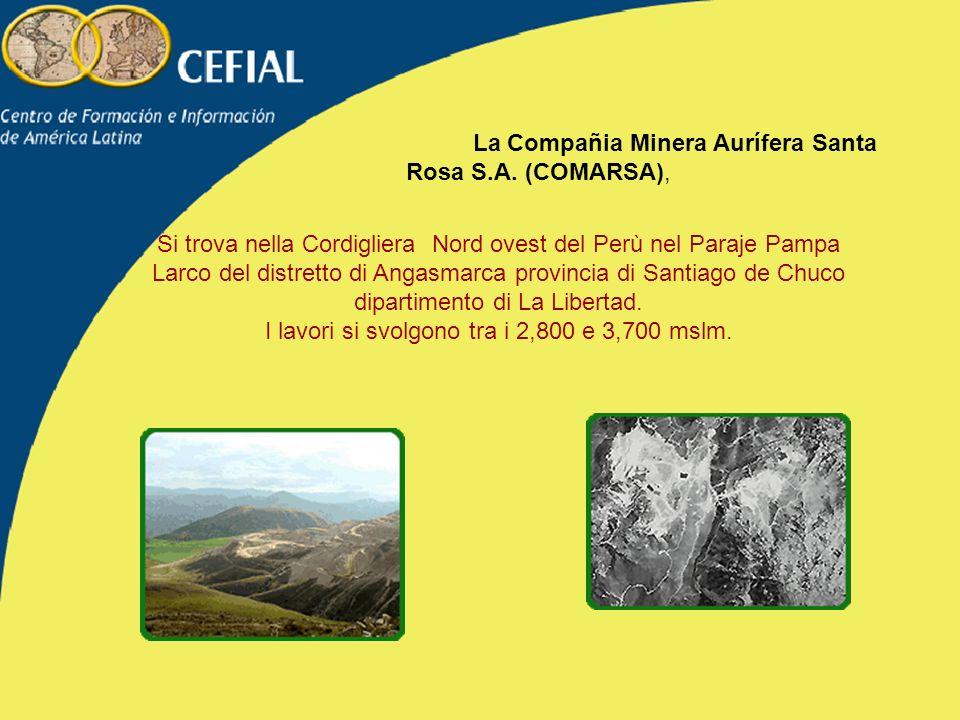 La Compañia Minera Aurífera Santa Rosa S.A.