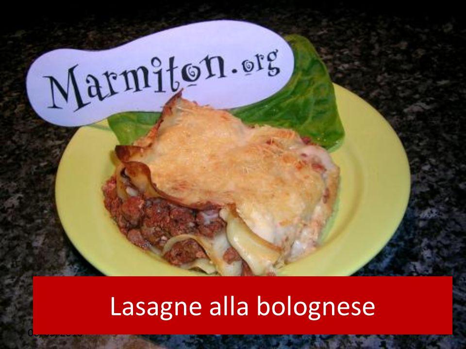 06/03/2010 Lasagne alla bolognese