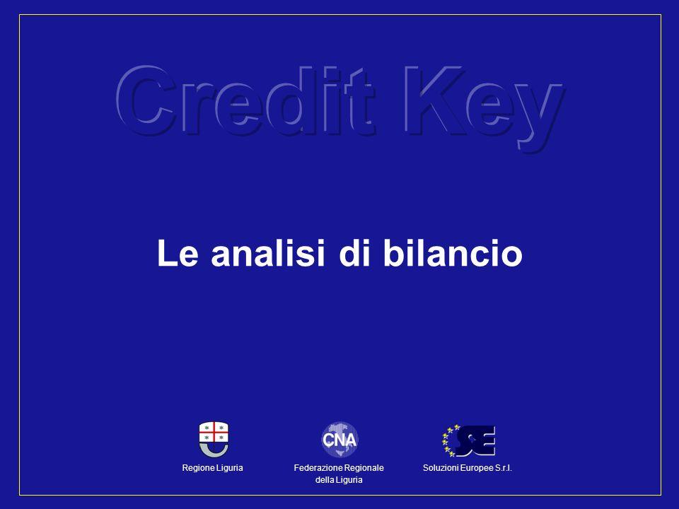 Le analisi di bilancio Federazione Regionale della Liguria Regione LiguriaSoluzioni Europee S.r.l.