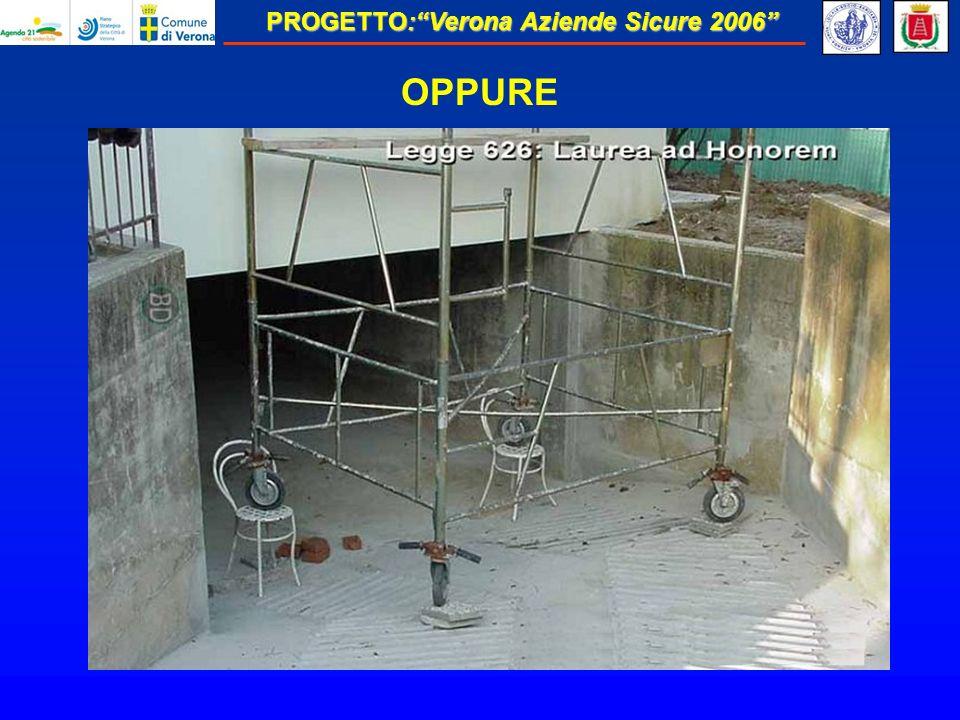 PROGETTO:Verona Aziende Sicure 2006 OPPURE