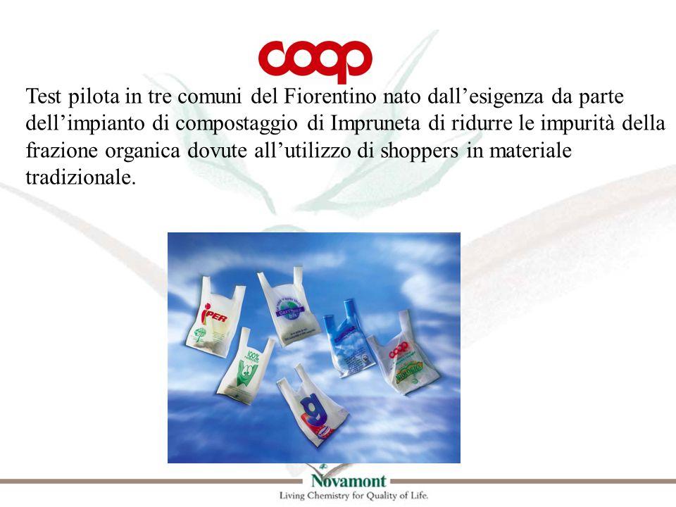 Test pilota in tre comuni del Fiorentino nato dallesigenza da parte dellimpianto di compostaggio di Impruneta di ridurre le impurità della frazione or