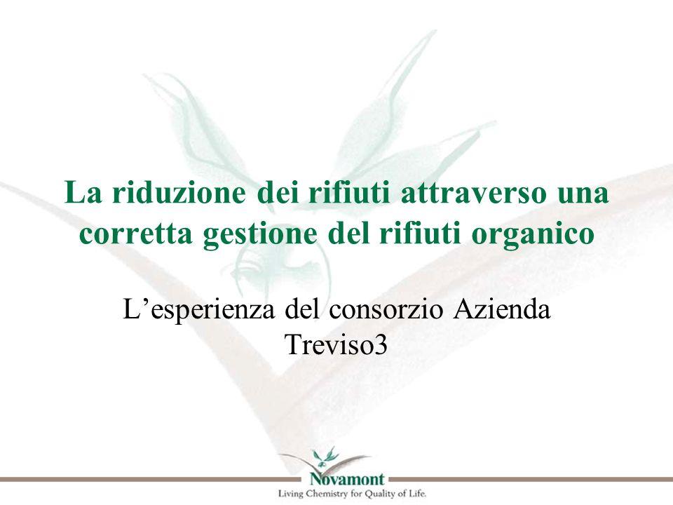 La riduzione dei rifiuti attraverso una corretta gestione del rifiuti organico Lesperienza del consorzio Azienda Treviso3