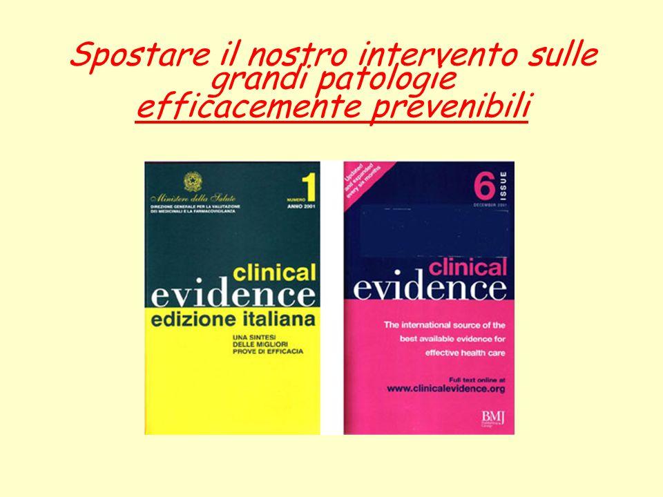 Non è ancora un programma Obiettivi specifici: 3.0 Indurre un approccio terapeutico razionale ed attento al rapporto costi/benefici.