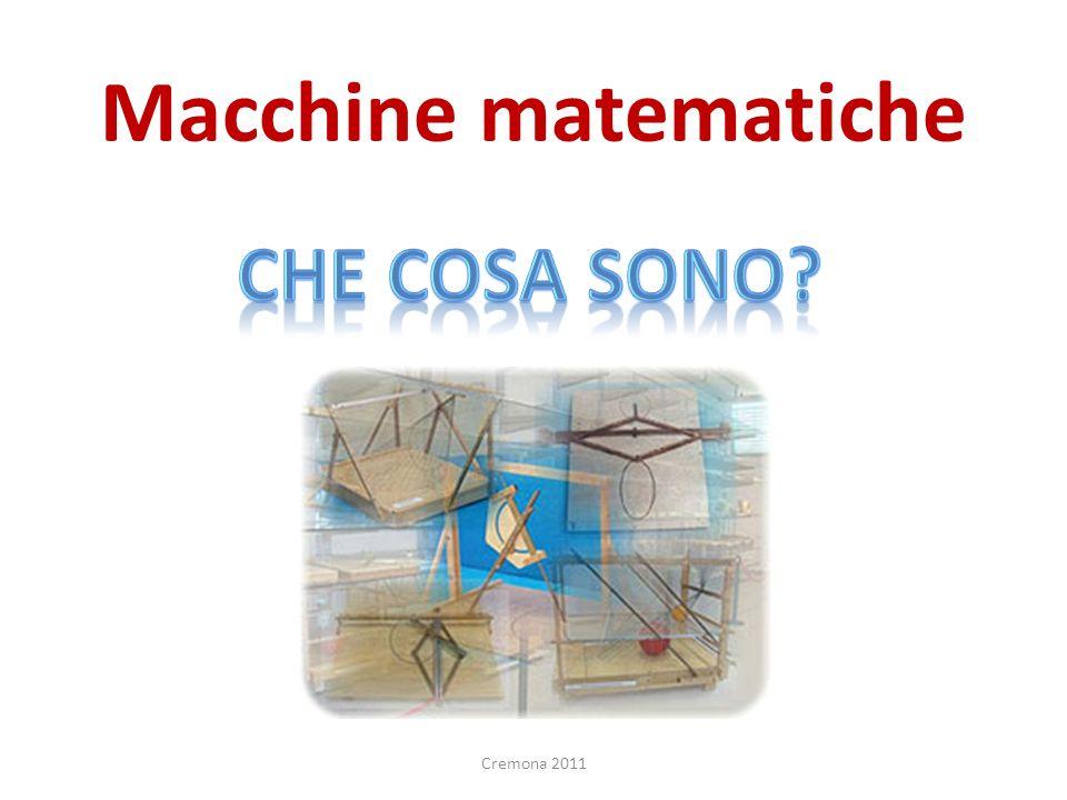Macchine matematiche Cremona 2011