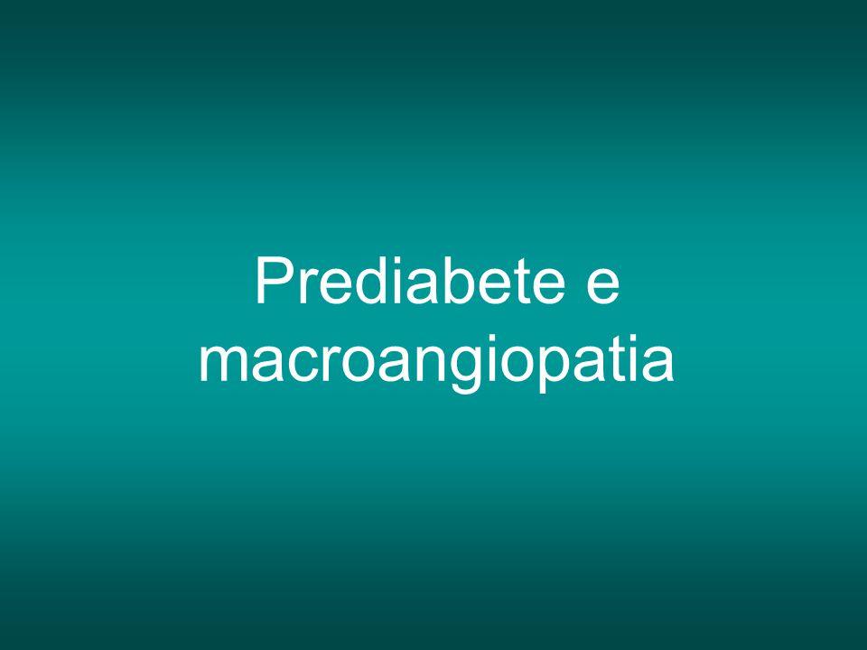 Prediabete e macroangiopatia