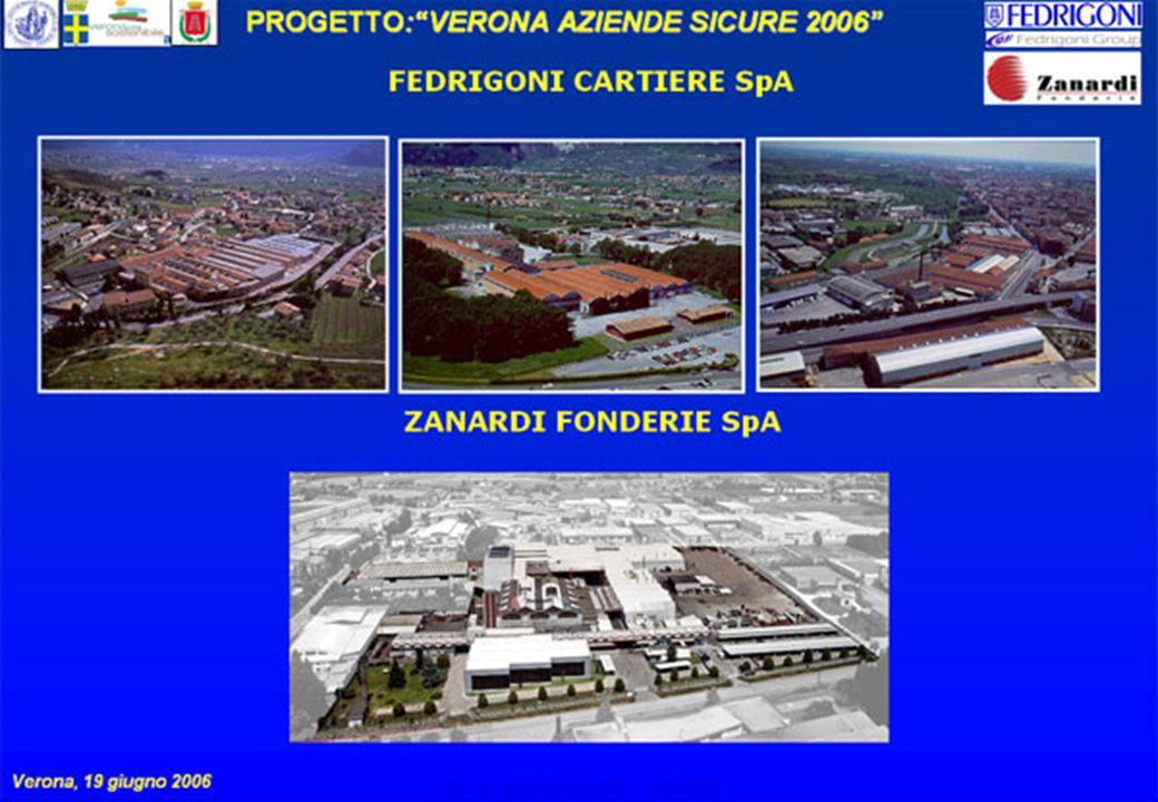 2 PROGETTO:VERONA AZIENDE SICURE 2006 Verona, 19 giugno 2006 VERONA AZIENDE SICURE – 19.06.2006 2
