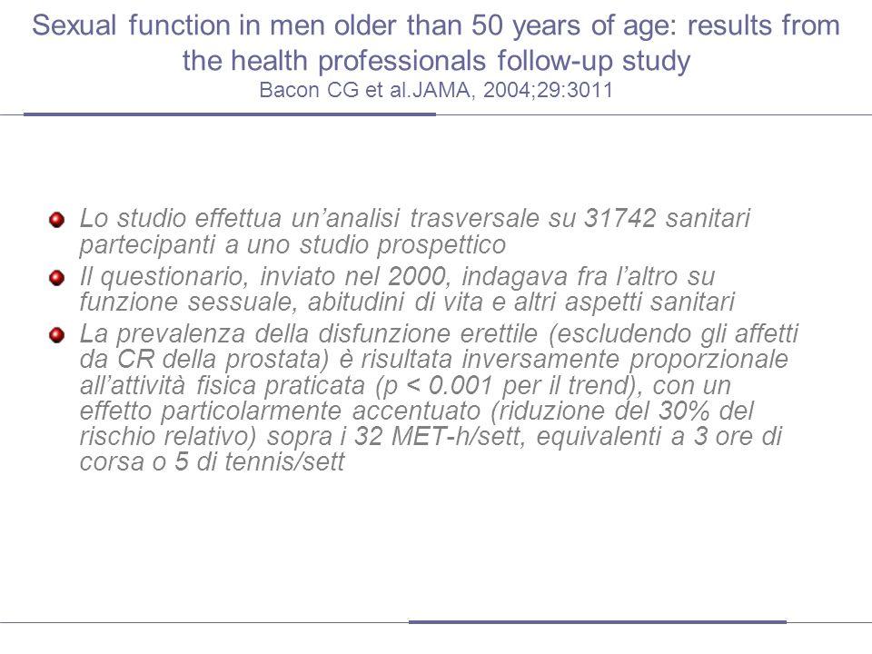 Altre evidenze Pedersen, B.K., & Saltin, B. (2006).