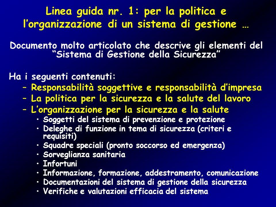 Linea guida nr.