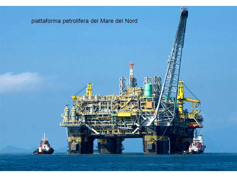 piattaforma petrolifera del Mare del Nord