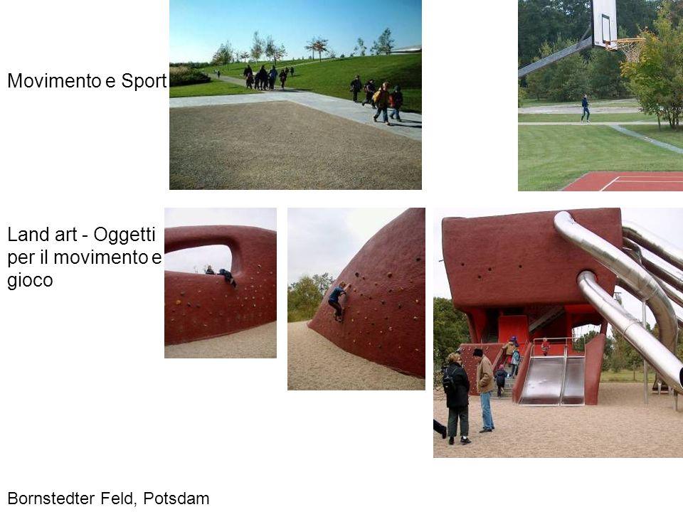 Movimento e Sport Land art - Oggetti per il movimento e gioco Bornstedter Feld, Potsdam