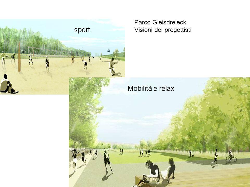 Parco Gleisdreieck Visioni dei progettisti Mobilità e relax sport