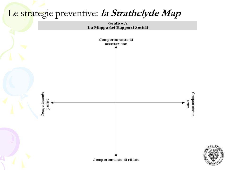 Le strategie preventive: la Strathclyde Map