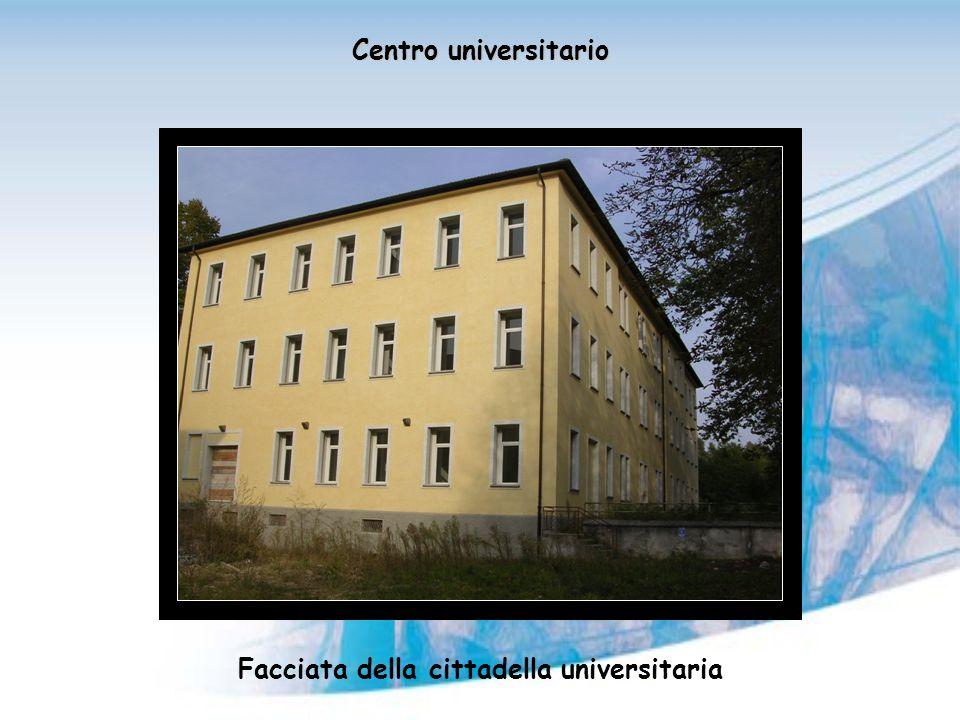 Centro universitario Facciata della cittadella universitaria