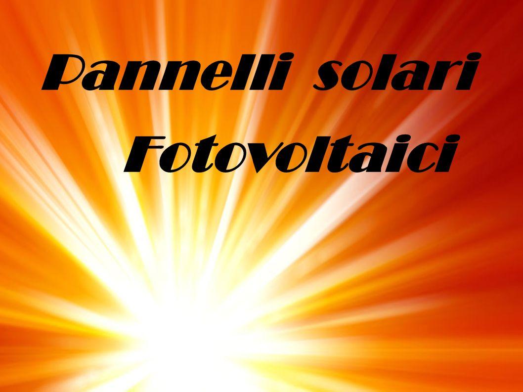 Che cos è un pannello solare fotovoltaico.