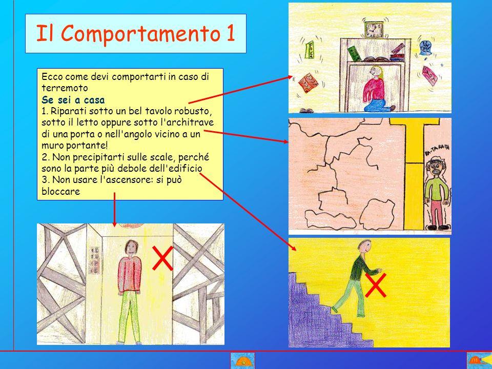 Il Comportamento 1 Ecco come devi comportarti in caso di terremoto Se sei a casa 1. Riparati sotto un bel tavolo robusto, sotto il letto oppure sotto