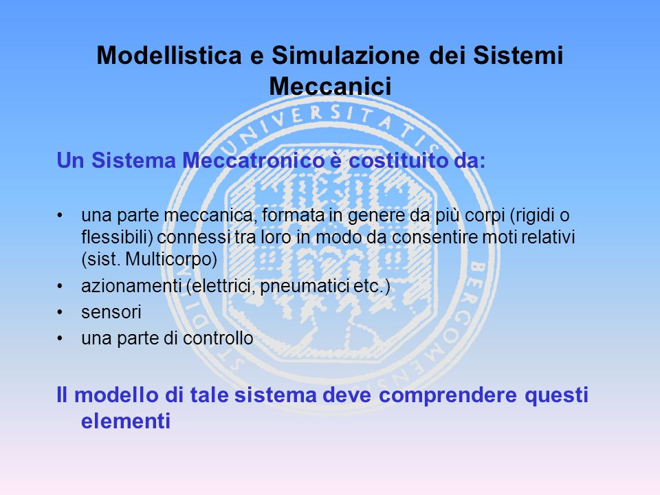 LM Ing. Meccanica
