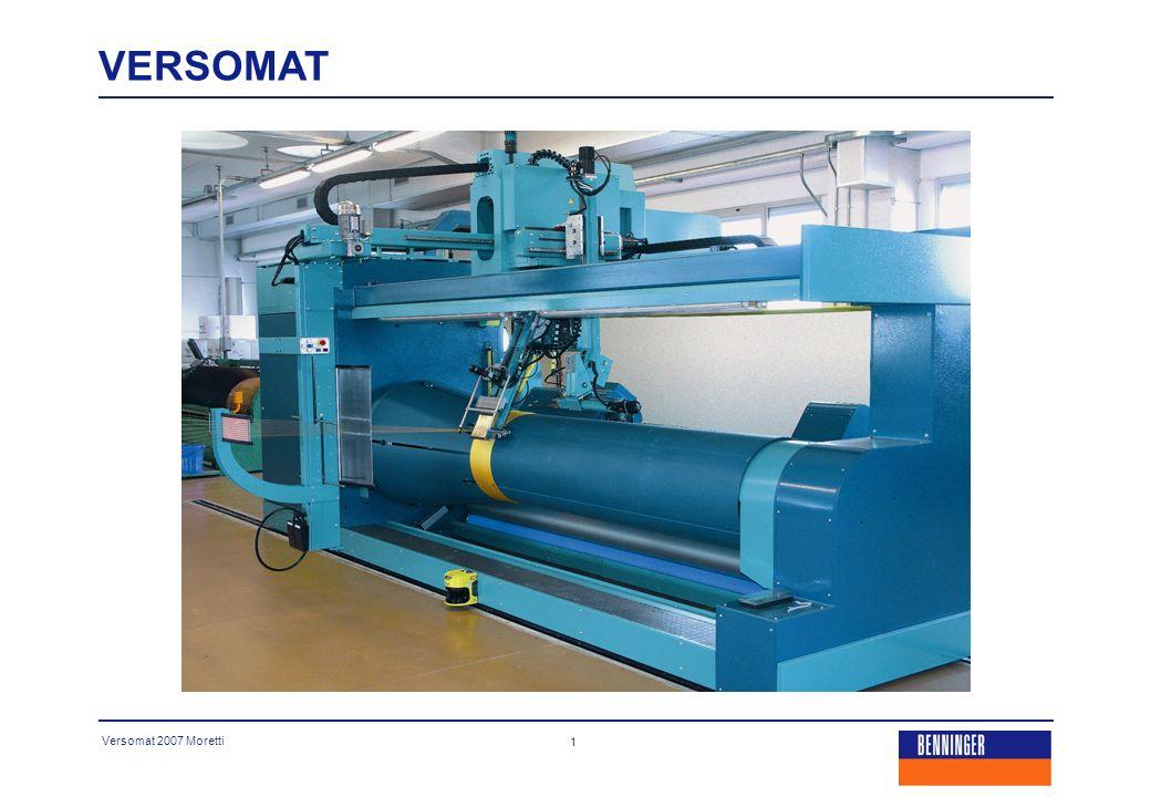 Versomat 2007 Moretti 2 Una macchina per tutte le applicazioni.