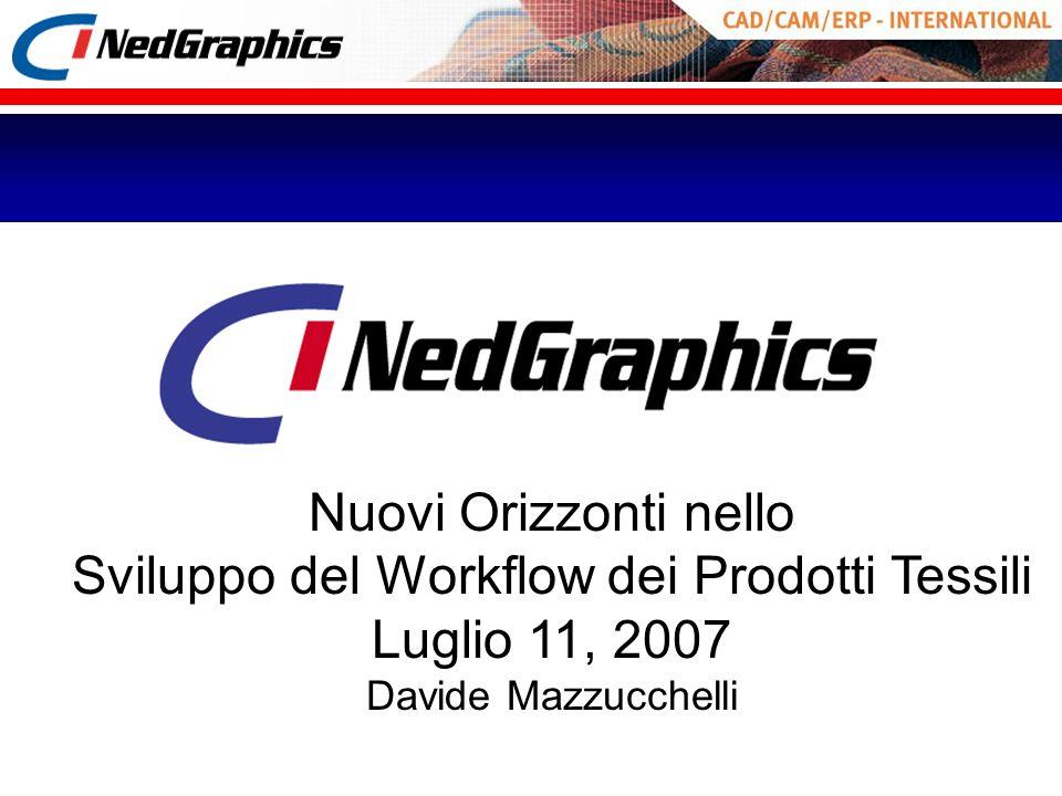 Nuovi Orizzonti nello Sviluppo del Workflow dei Prodotti Tessili Luglio 11, 2007 Davide Mazzucchelli