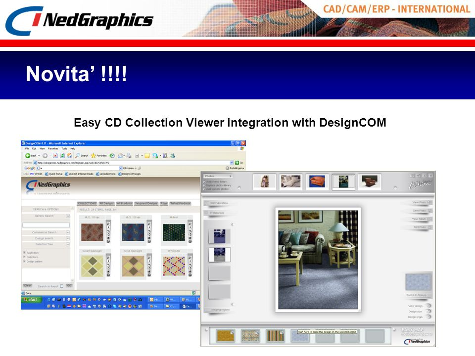 Easy CD Collection Viewer integration with DesignCOM Novita !!!!