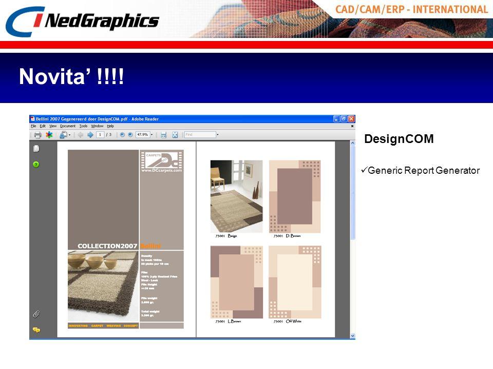 DesignCOM Generic Report Generator Novita !!!!