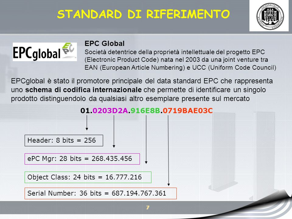 8 AGENDA TECNOLOGIA RFID - COSA SONO I SISTEMI RFID.