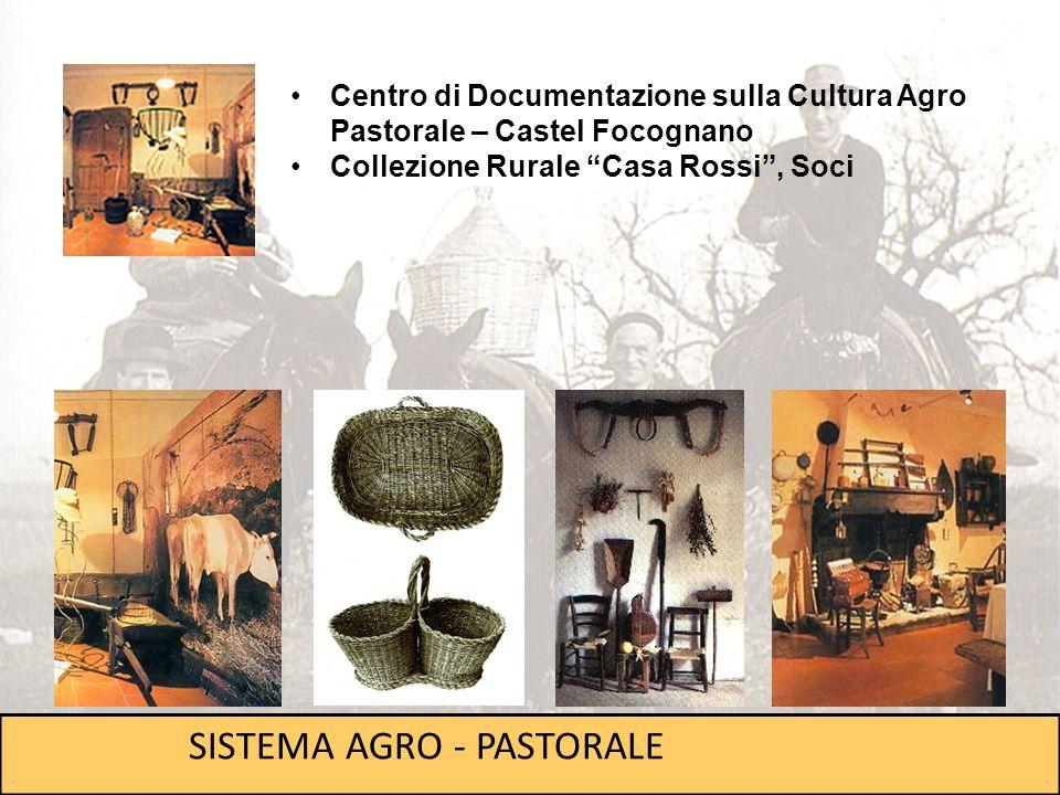 Centro di Documentazione sulla Cultura Agro Pastorale – Castel Focognano Collezione Rurale Casa Rossi, Soci SISTEMA AGRO - PASTORALE