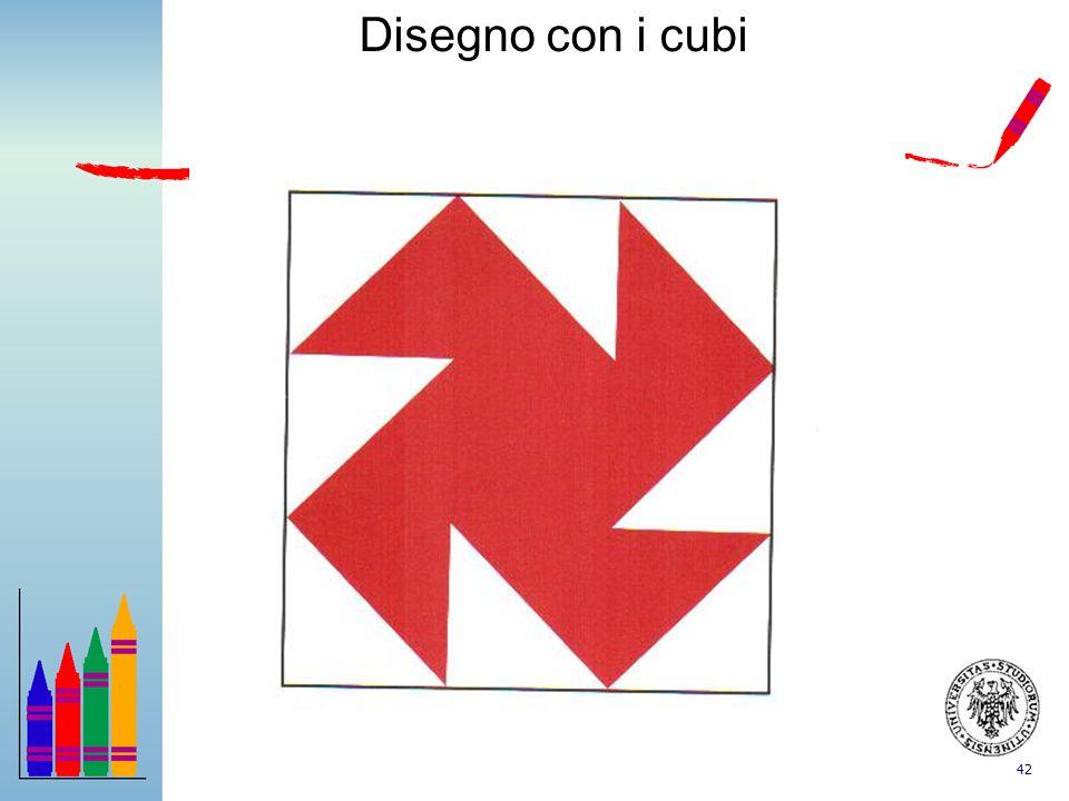 42 Disegno con i cubi