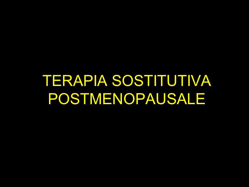TERAPIA SOSTITUTIVA POSTMENOPAUSALE