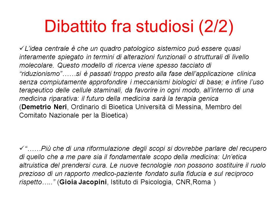 La terapia genica in Italia (1/2) In Italia la ricerca è finanziata da Telethon, organizzazione senza scopo di lucro, che mira a far avanzare la ricerca biomedica verso la cura della distrofia muscolare e delle altre malattie genetiche.