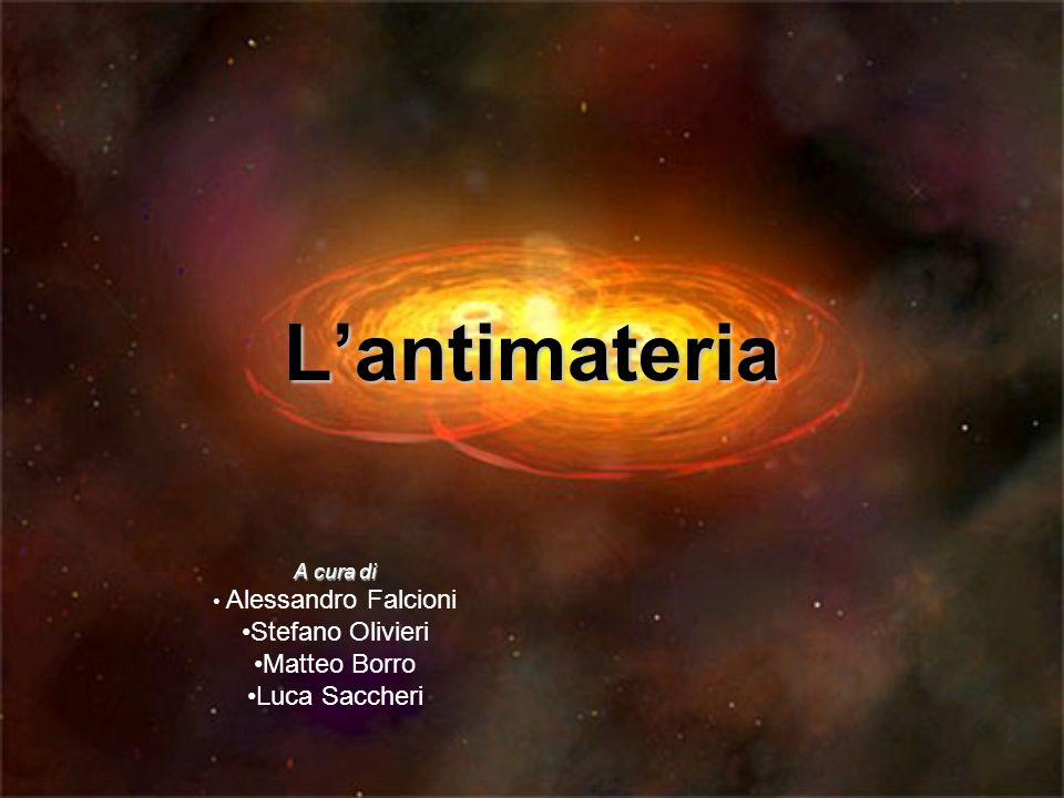 Lantimateria A cura di Alessandro Falcioni Stefano Olivieri Matteo Borro Luca Saccheri